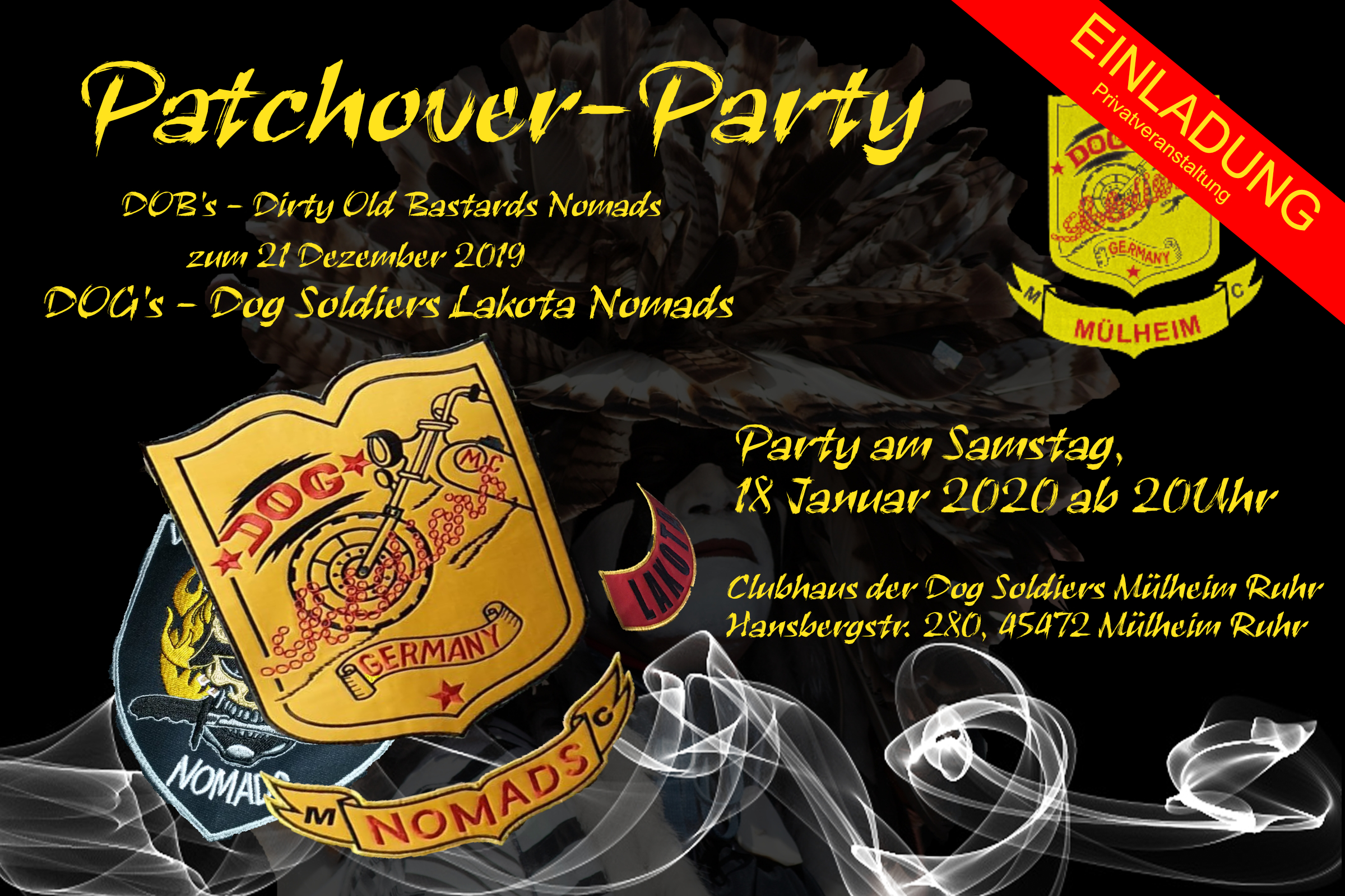 Patchoverparty DOB's
